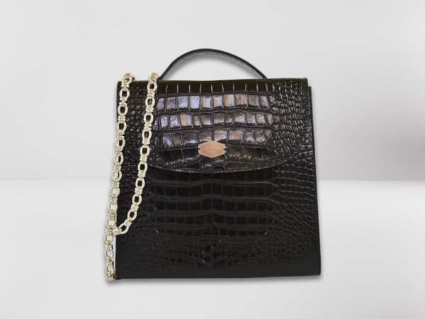 Anima Luxury Embossed nera1