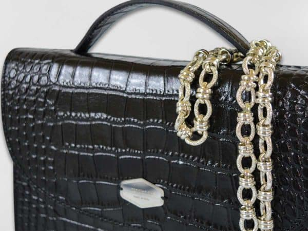 Anima Luxury Embossed nera3