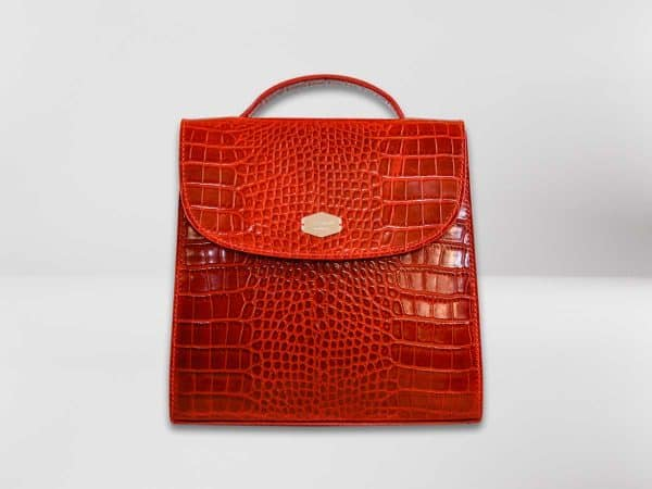 Anima Luxury Embossed rossa1