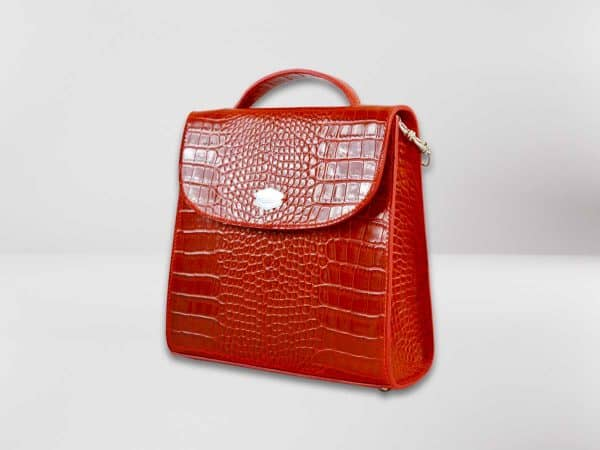 Anima Luxury Embossed rossa2