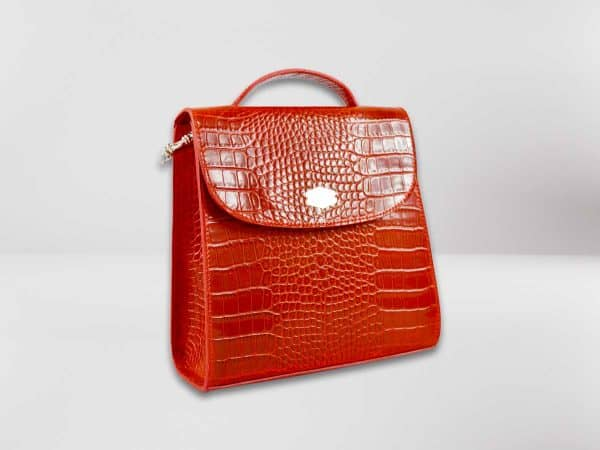 Anima Luxury Embossed rossa3